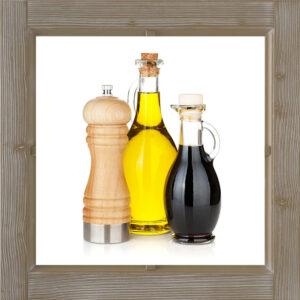 Essig, Öl und Gewürze