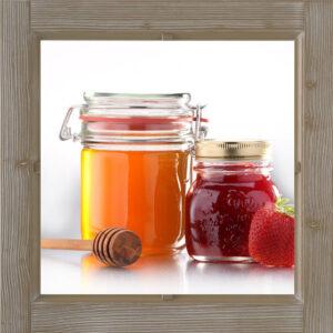 Honig und Marmeladen